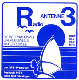 Antenne 3 am Gardasee