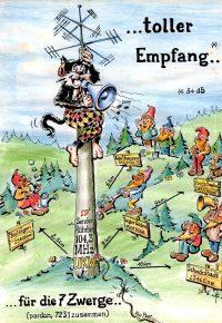 Karikatur Rührberg (Bild: Privatarchiv Hufschmid)