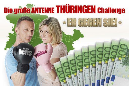 Thüringen-Challenge: Jens und Wenke Er gegen Sie