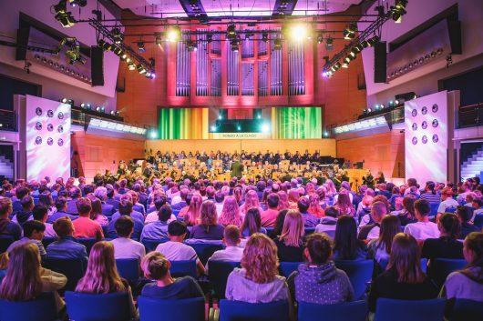 Das große Finalkonzert zum Händel-Experiment 2018 (Bild: ©MDR/Flad)