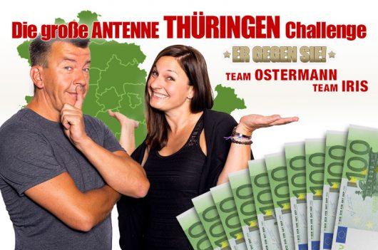 Thüringen-Challenge: Ostermann Iris Er gegen Sie