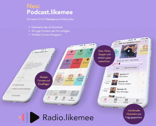 Podcast.likemee (Bild: ©REGIOCAST)