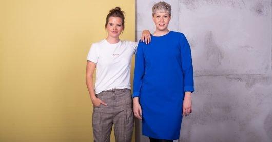 """Die beiden Moderatorinnen Cora-Bess Klausnitzer (li.) und Annette Volmer starten um 6 Uhr mit der """"DASDING Morningshow"""" den Frauentag. (Bild: ©SWR/Ronny Zimmermann)"""