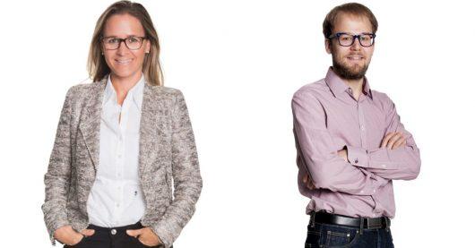 Dr. Gwendolin Gundlach und Raphael Roth (Bild: antenne 1 Neckarburg)