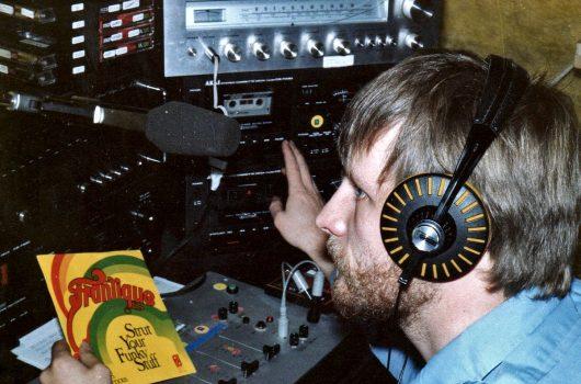 Jürgen von Wedel im Studio