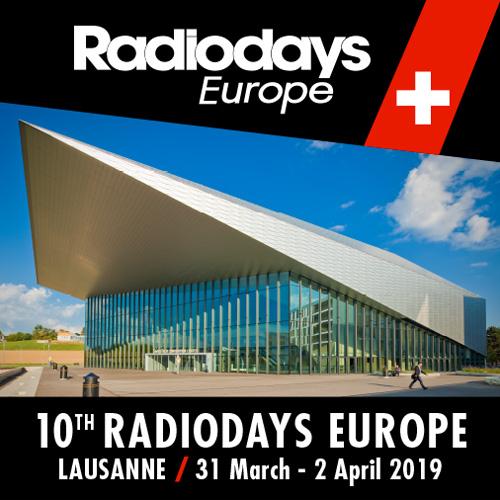 Radiodays Europe 2019 in Lausanne: Sound Matters – Die Zukunft von Audio