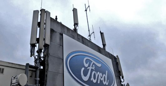Antenne von CityRadio Saarlouis auf dem Ford-Hochhaus (Bild: ©Stephan Schwenk)