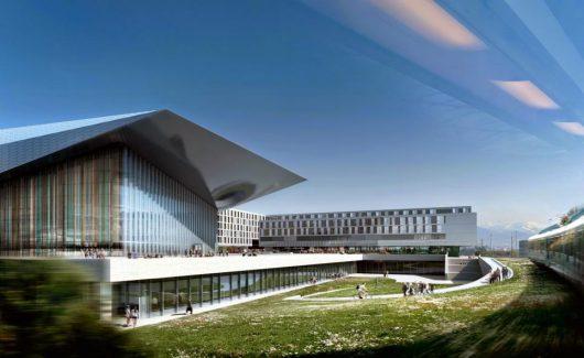 SwissTech Convention Center (Bild: ©Richter Dahl Rocha & Associés)