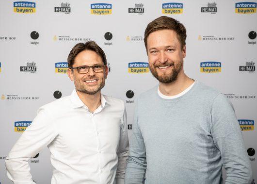 Sven Rühlicke und Ruben Schulze-Fröhlich (Bild: Antenne Bayern)Sven Rühlicke und Ruben Schulze-Fröhlich (Bild: Antenne Bayern)