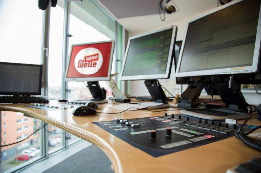 Blick ins Studio (Bild: ©die neue welle)