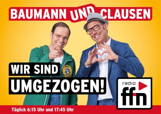 Baumann & Clausen ab jetzt bei radio ffn