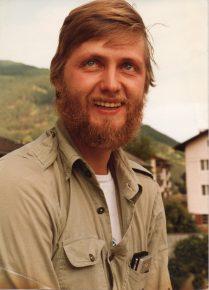 Jürgen von Wedel 1980 in Südtirol