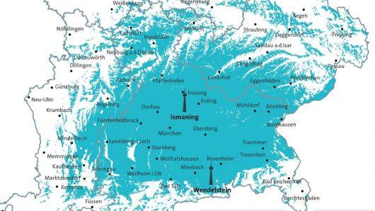 5G-Testnetz (Grafik: © Bayerischer Rundfunk)