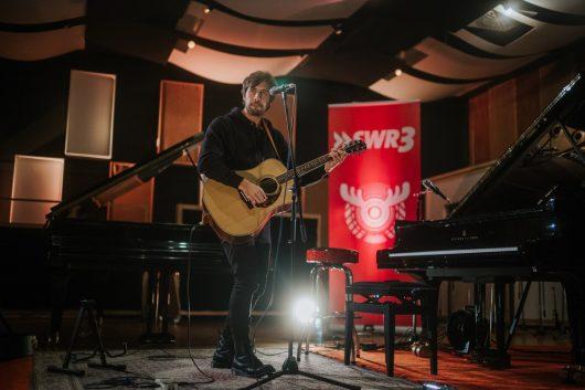 SWR Studio Session mit Max Giesinger (Bild: © SWR/Niko Neithardt)