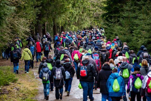 Radio Brocken Osterspaß: Tausende Mitwanderer