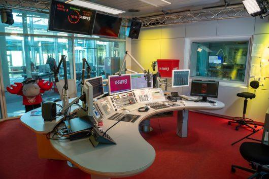 SWR3 Studio in Baden-Baden (Bild: © SWR/Alexander Kluge)