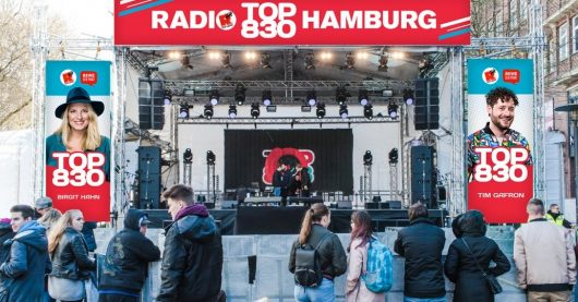 TOP830-Bühne (Bild: ©Radio Hamburg)