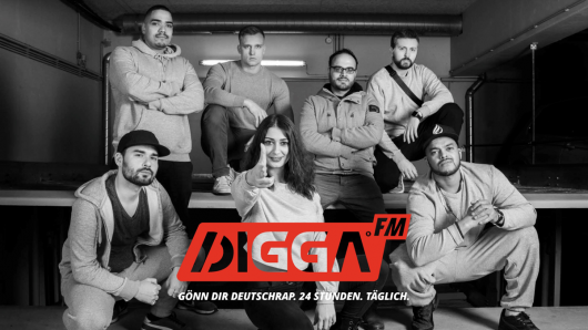 DIGGA.FM: SILVACAST startet eigenen Deutschrap-Sender