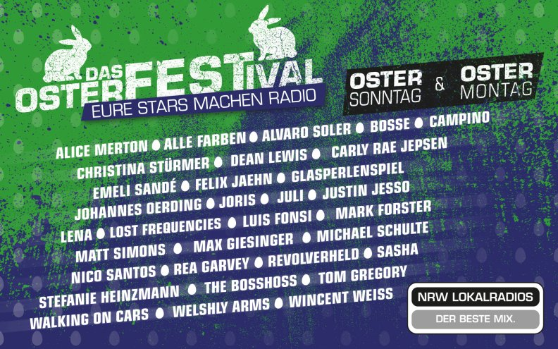 NRW-Osterfestival zu Ostern 2019