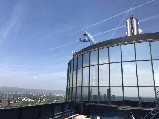 Antenne Frankfurt-Studios im Citygate-Tower Frankfurt (Bild: Antenne Frankfurt)
