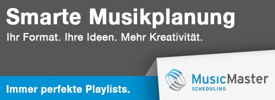 Smarte Musikplanung - Musicmaster