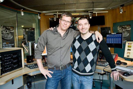 Christoph Azone (l.) und Stefan Rupp (Bild: ©rbb/Thomas Ernst)