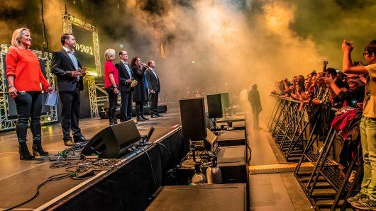 SWR1 Hitparade 2018 Mod auf der Bühne