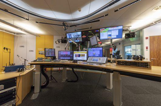 SWR1, SWR4, Studio A, Zur Sache, Serverraum, SWR Heimat, Redaktion, Kamera (Bild: SWR)