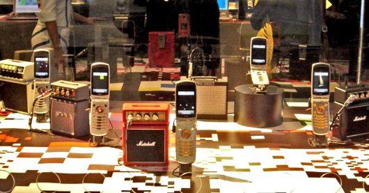 Handy-Musik-Radios aus dem Jahre 2006 (Bild: ©James Cridland)