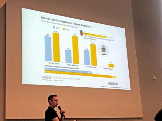 Marc Krüger beim Medientreff NRW 2019