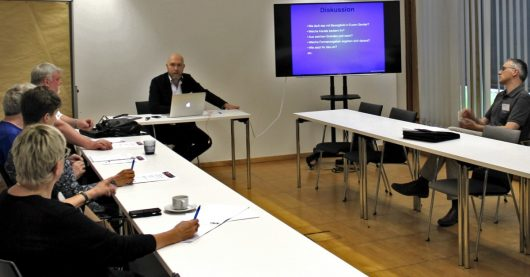 Martin Klostermann im Workshop (Bild: ©Philipp Kania)