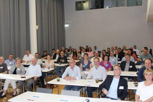 Voller Saal beim Medientreff NRW am 5.6. im Wissenschaftspark Gelsenkirchen (Bild: ©Philipp Kania)