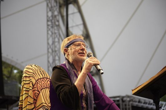 Volker Rebell bei Woodstock-Revue in Hanau (Bild: ©Volker Rebell)