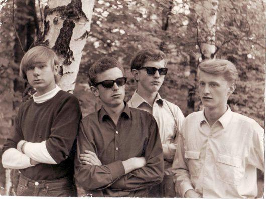 Volker Rebell (ganz links) bei The Cheats 1964 (Bild: ©Volker Rebell)