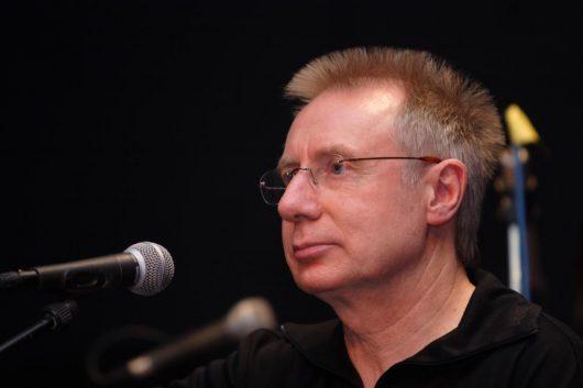 Volker Rebell bei Heine-Rezitation (Bild: ©Volker Rebell)