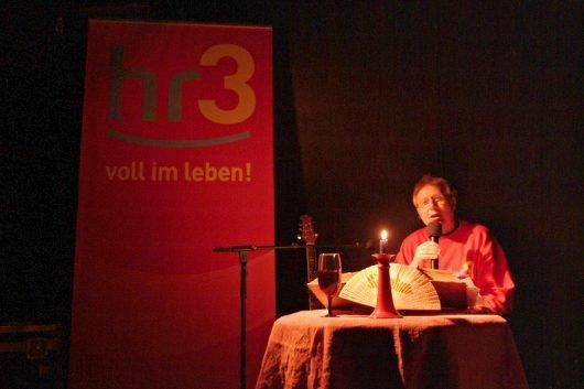 Volker Rebell bei HR3 (Bild: ©Volker Rebell)