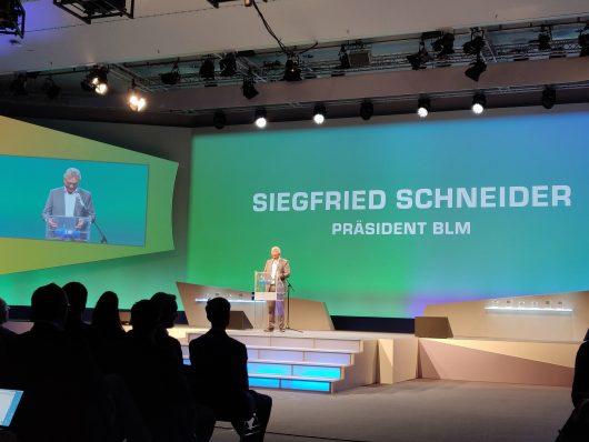 BLM-Präsident eröffnet die Lokalrundfunktage Nürnberg 2019 (Bild: ©Dominik Sichling)