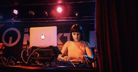 DJane Salwa Benz bei BremenNEXT Night März 2019 (Bild: ©Radio Bremen/Christian Wasenmüller)