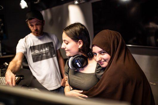 """Bremen NEXT-Schulprojekt """"NEW SCHOOL"""" (Bild: ©Radio Bremen/Lars Kaempf)"""