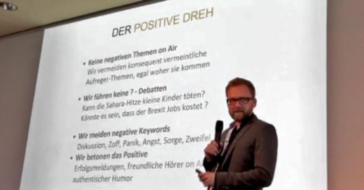 """""""Der freundliche Dreh"""" Torsten-Birenheide- auf den #LRFT19 (Bild: ©Ulrich Köring)"""
