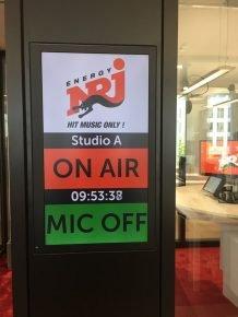 ENERGY München on air in neuen Studios im Schwabinger Tor (Bild: @ENERGY)