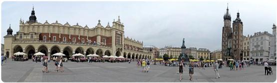 Hauptmarkt in Krakau (Bild: ©Marek Schirmer)