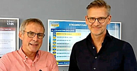 Viktor Worms im Webtalk mit Felix Kovac (Bild: ©FM Online Factory)
