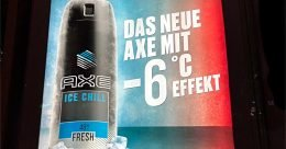 Axe-Werbung (Bild: ©Heiko Dietze)