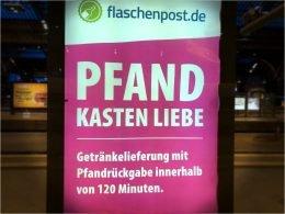 flaschenpost.de-Citylight (Bild: ©Heiko Dietze)