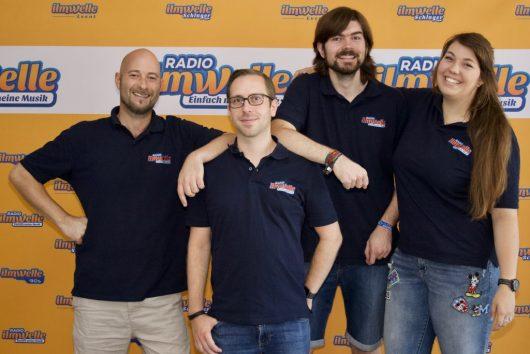 Radio Ilmwelle-Team (Bild: ©Radio Ilmwelle)