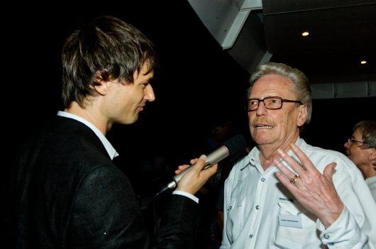 Jochen Pützenbacher im Interview bei Jubikläumsfeier 50 Jahre RTL Radio Luxemburg (Bild: ©Ulrich Köring/RADIOSZENE)