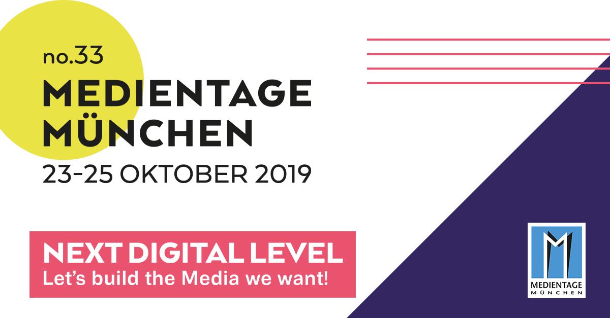 Medientage München 2019 MTM19