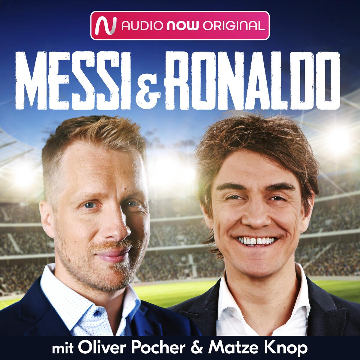 Messi & Ronaldo - Oliver Pocher und Matze Knop starten Fußball-Podcast (Bild: ©AUDIO NOW)