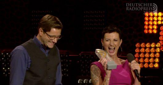 Mario Neumann und Nicole Ritterbusch (Bild: ©Deutscher Radiopreis)